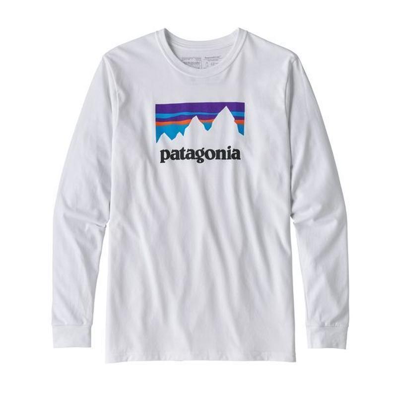 Patagonia(パタゴニア) メンズ・ロングスリーブ・ショップ・ステッカー・レスポンシビリティー  #39162   White (WHI) [商品管理番号:30-pt39162]