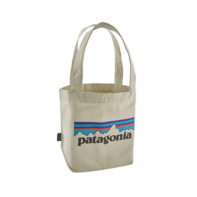 Patagonia(パタゴニア)  ミニ・トート   #59275 カラー  P-6 Logo: Bleached Stone (PLBS)
