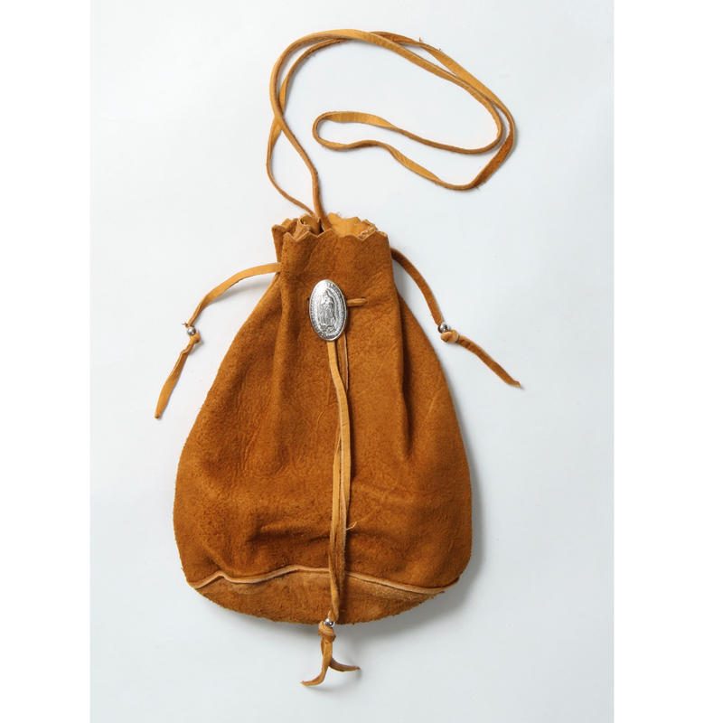 WACKO MARIA / SUEDE SHOULDER BAG (type-2.brown)