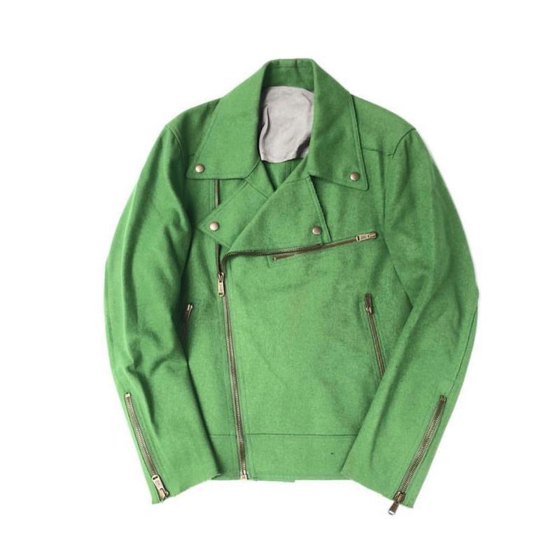 YvesSaintLaurent  / Melton Cutting Riders Jacket (Hi brand hurugi)