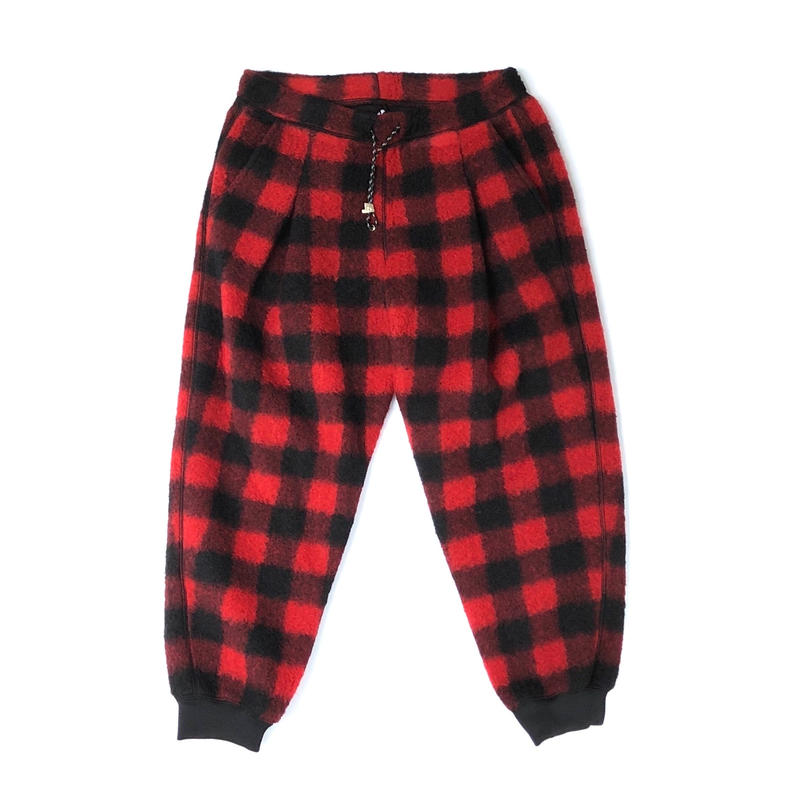 R.M GANG / BUFFALO CHECK PANTS (red)