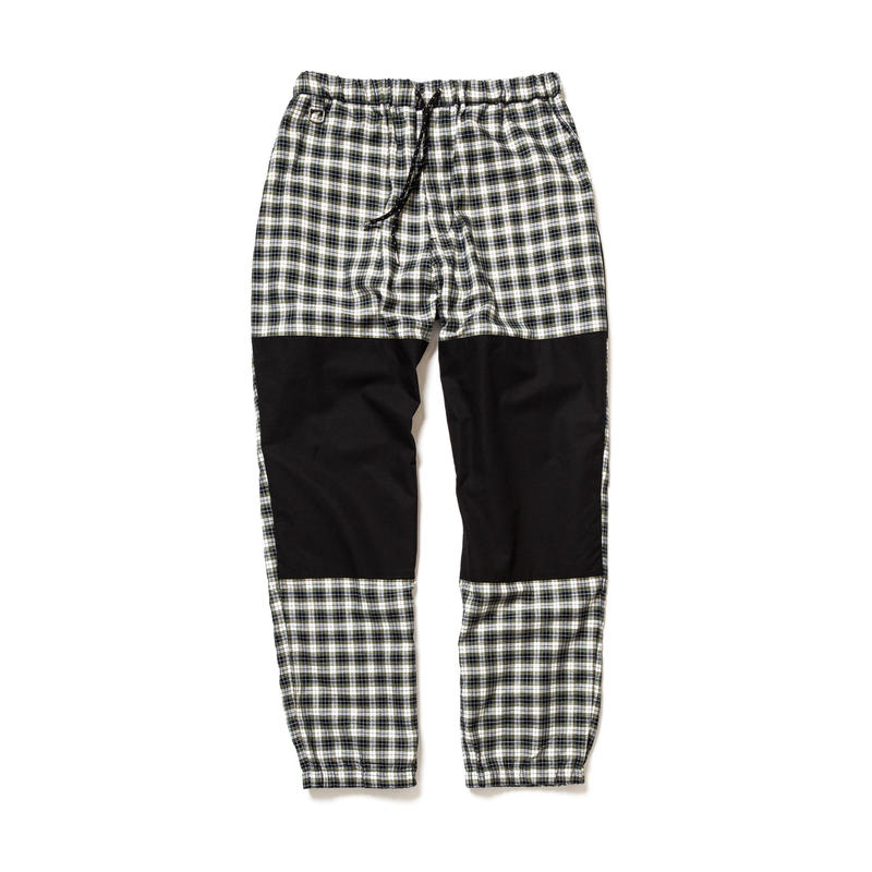 F-LAGSTUF-F  / CHECK EASY PANTS(white)