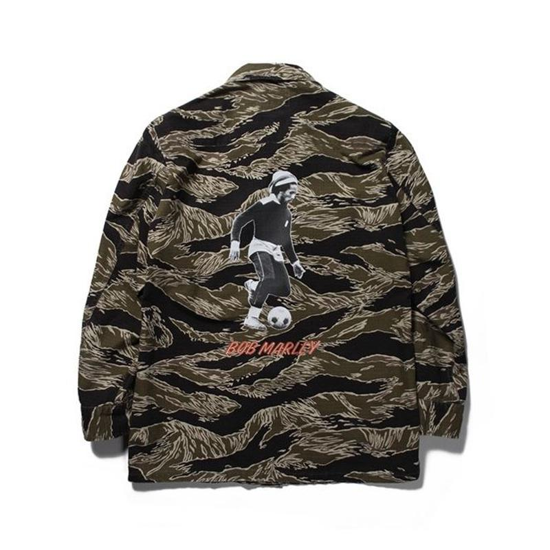 BOB MARLEY x WACKO MARIA / JUNGLE FATIGUE JACKET (type-3)