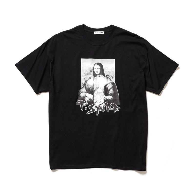 """F-LAGSTUF-F / """"Mona Lisa"""" Tee (black)"""
