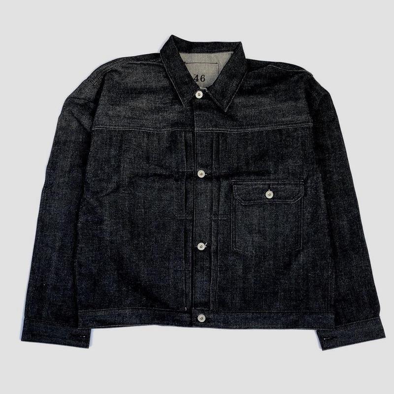 THREE FACE for CSF / denim jacket (black)
