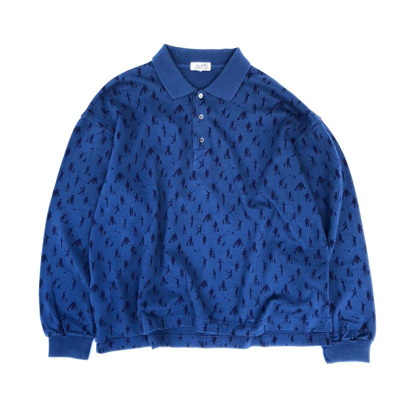 HERMES / L/S Polo Shirt (spice)