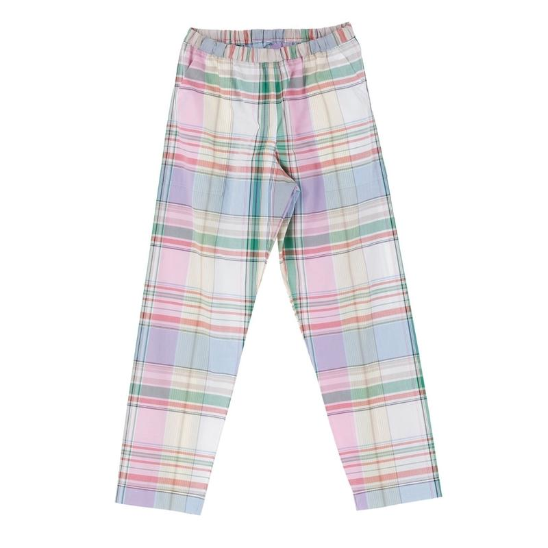 PHINGERIN / NIGHT PANTS PLAID (sax large check)