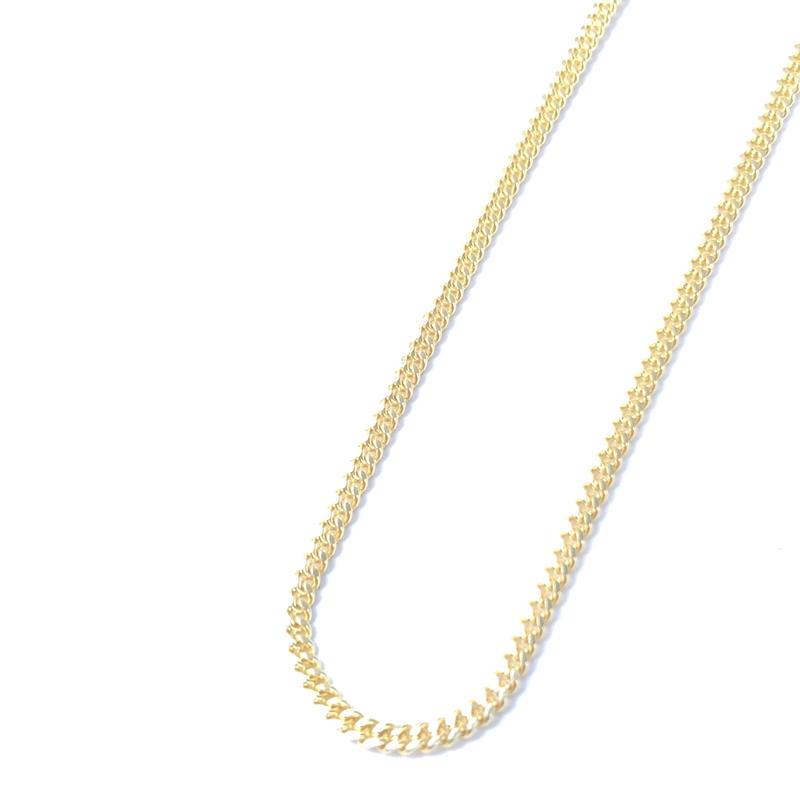 """14K GOLD NECKLACE """"Miami Cuban Link"""" (50cm)#6"""