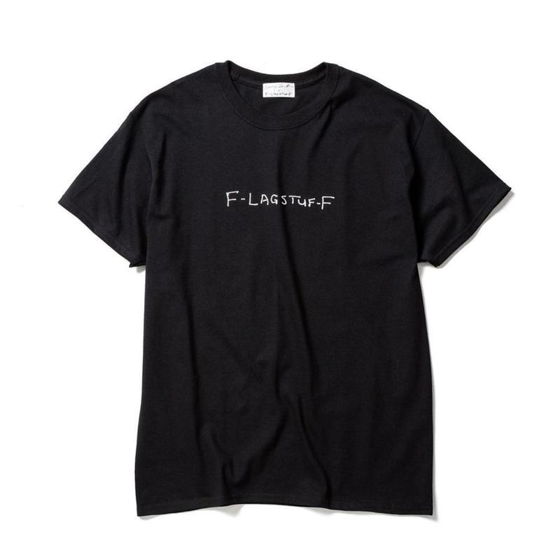 """F-LAGSTUF-F x Larry Clark /  """"Tee 5"""" (black)"""