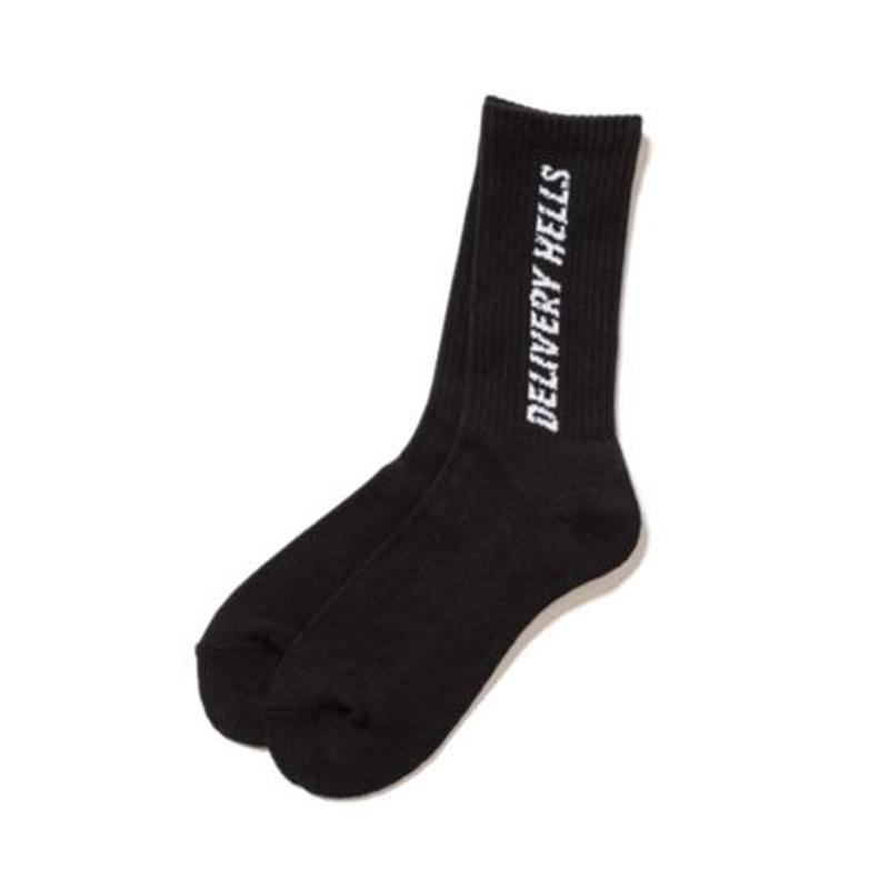 Delivery Hells / LOGO SOX (black)