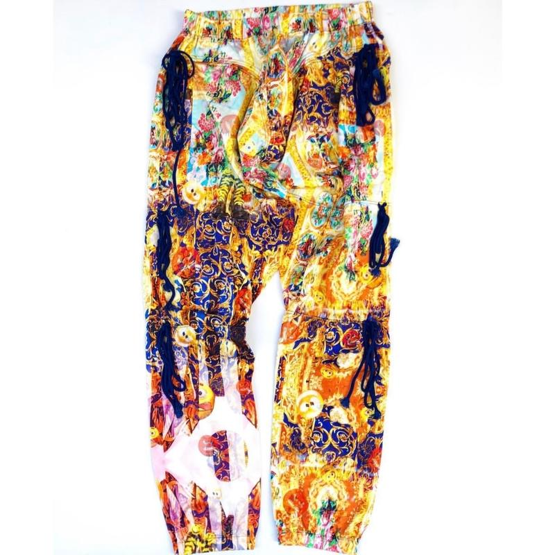 "Bernhald Willhelm 13SS  ""Full Pattern String Pants"""