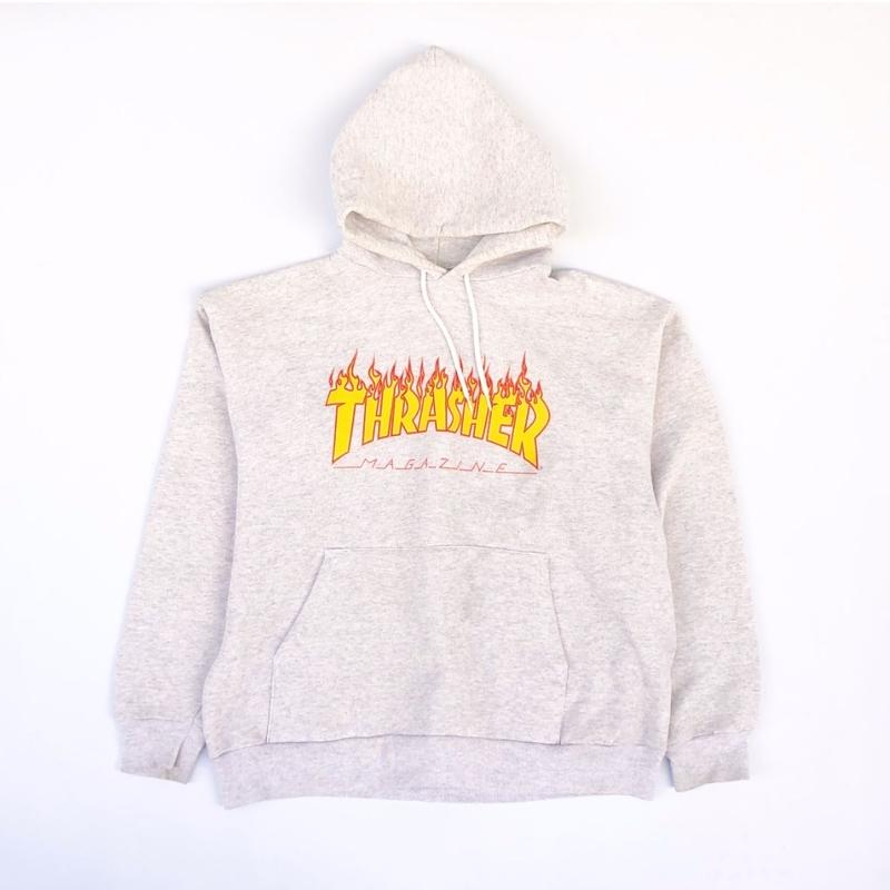 "90's THRASHER  ""Sweat Parka"" (spice)"