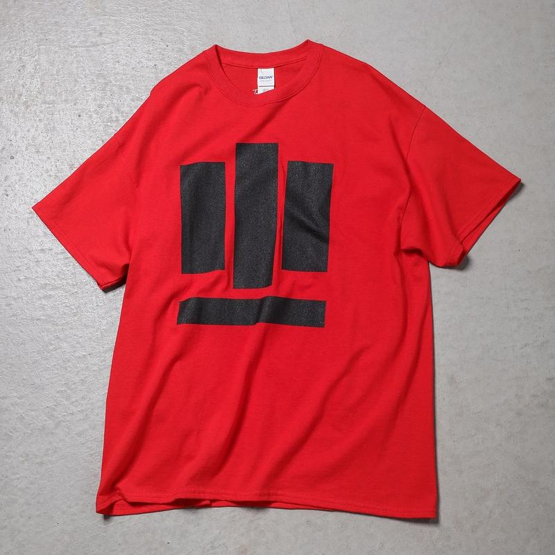 """Tenjinyu / 10th """"BUSINESS AS USUAL"""" Tee (red)"""