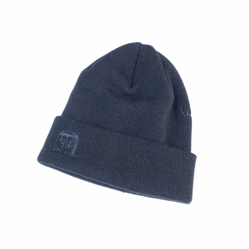 FORTY PERCENT AGAINST RIGHTS / RIP BEANIE CAP (black)