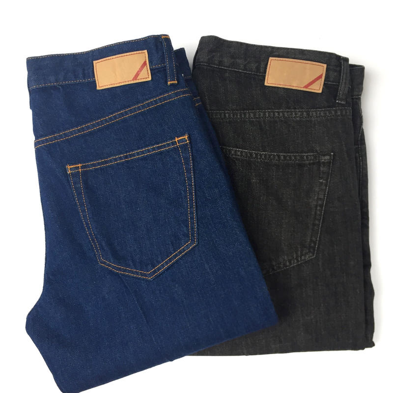 PHINGERIN /  JT1 JEANS  ' slim fit'  (black)