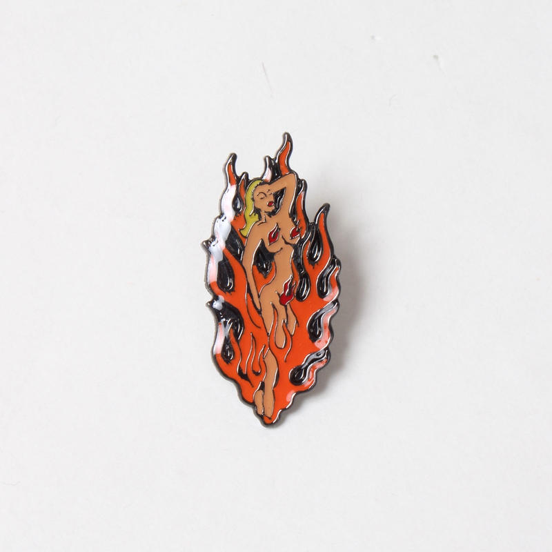WACKO MARIA / FIRE GIRL PIN