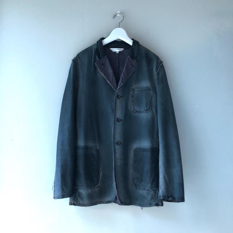 COMME des GARCONS SHIRT / Leather Jkt (spice)