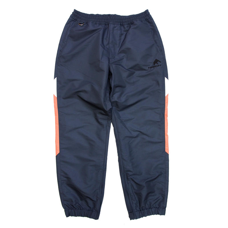 F-LAGSTUF-F / Nylon Track Pants (gray×pink)