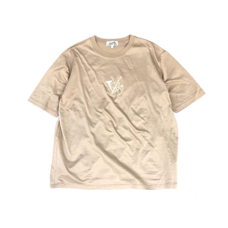 HERMES / Embroidery S/S T-shirt (Hi brand hurugi)