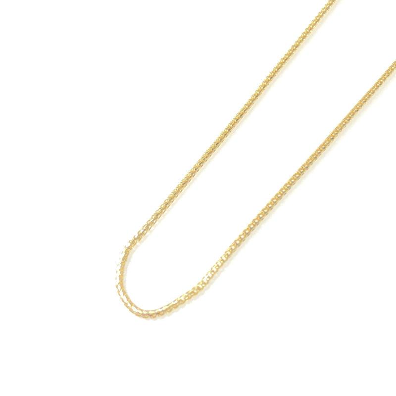 "14K GOLD NECKLACE ""Franco"" (55cm)#2"