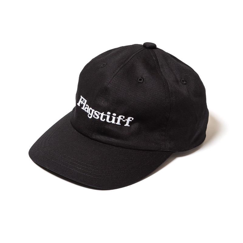 "F-LAGSTUF-F / ""F-LAGSTUF-F"" LOGO CAP (black)"