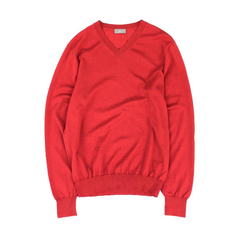 """Dior Homme """" V-neck light knit"""""""