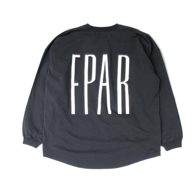 FORTY PERCENT AGAINST RIGHTS / BASE DESIGN L/S Tee (black)