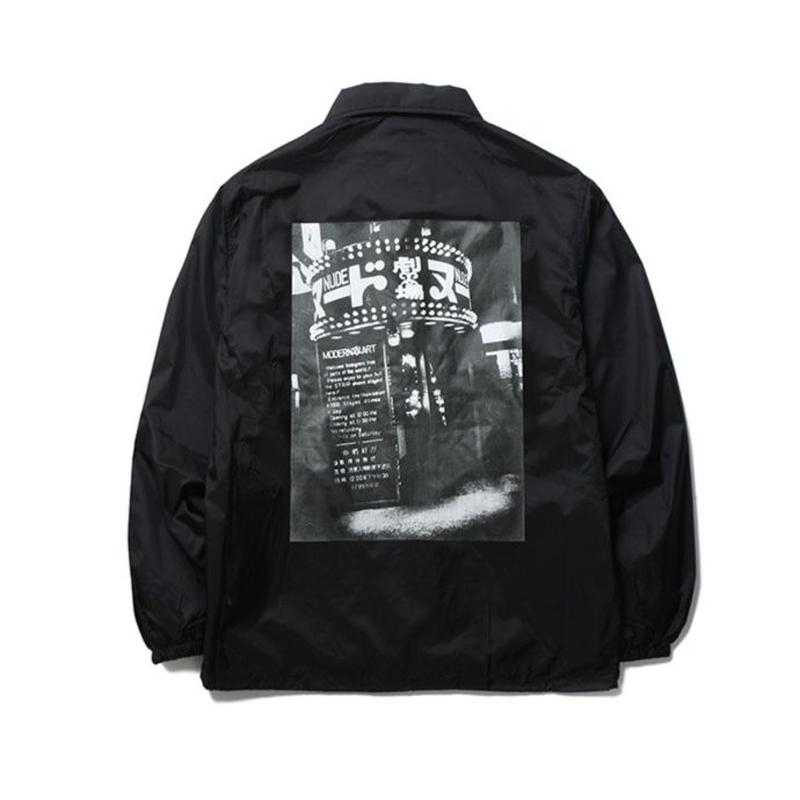 WACKO MARIA x 森山大道 /  COACH JACKET (TYPE-8)