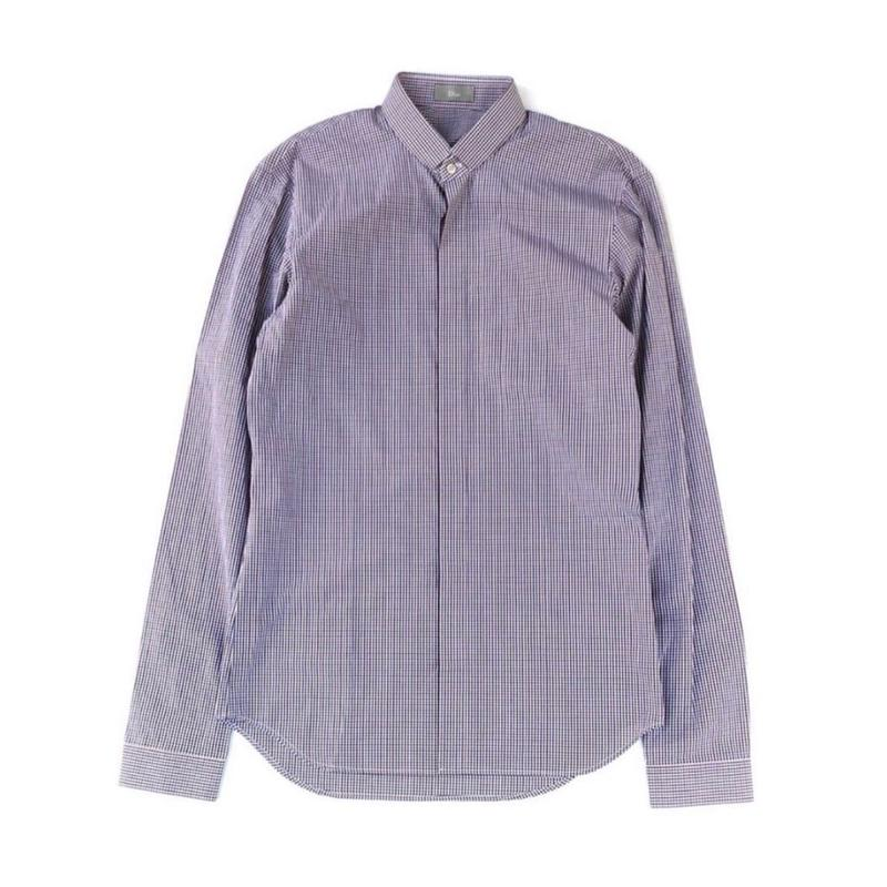 """Dior Homme """"Check L/S Shirt"""""""