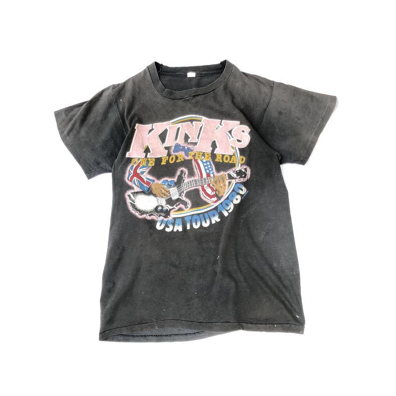 The KINKS USA Tour 1980 Tee (spice)