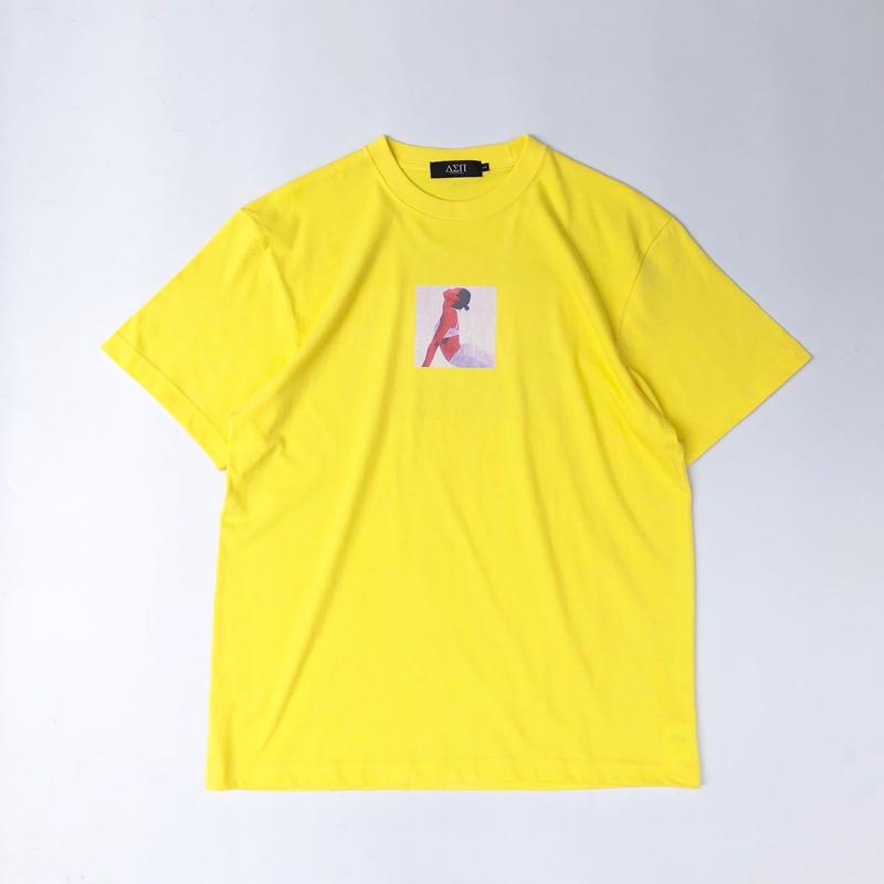 Diaspora skateboards / Twenty One Tee (yellow)