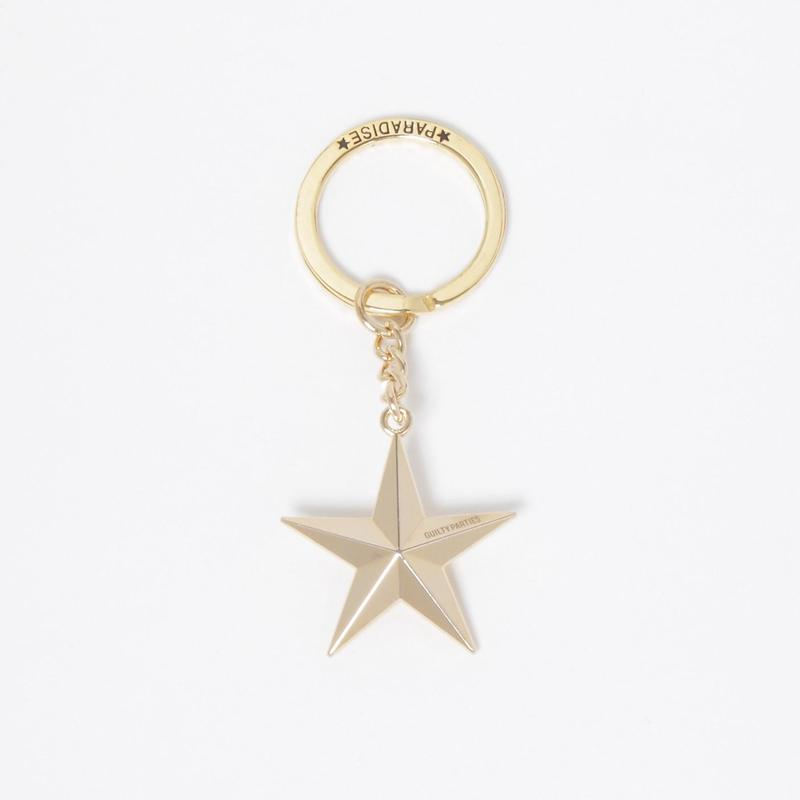WACKO MARIA/STAR KEY HOLDER (TYPE-2) (GOLD)