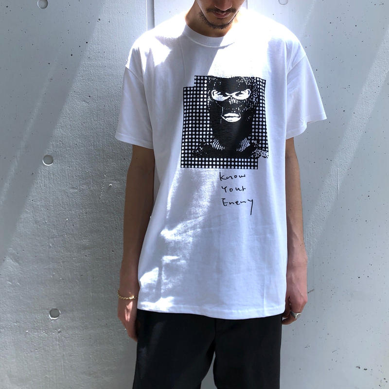 "FORTY PERCENT AGAINST RIGHTS / ""KNOW YOUR ENEMY"" SS Tee 07 (white)"