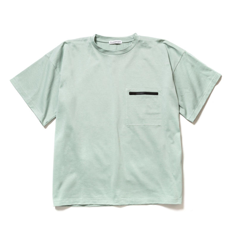F-LAGSTUF-F  / ZIP BIG Tee (green)