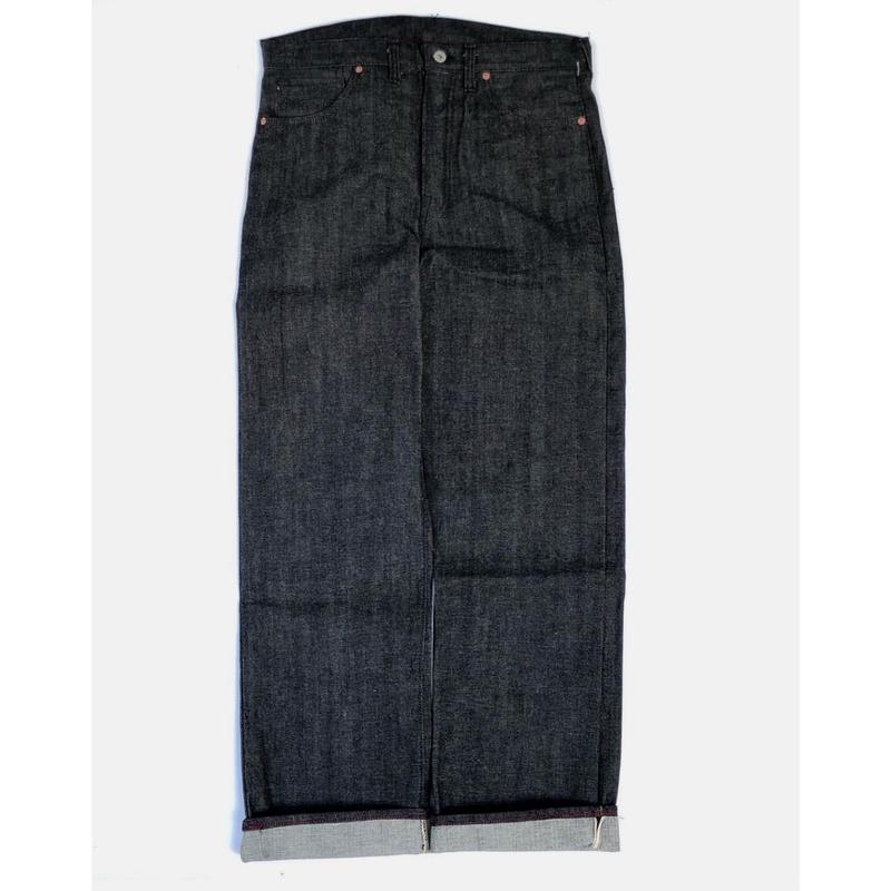 """csf for three face ""denim pants (black)"