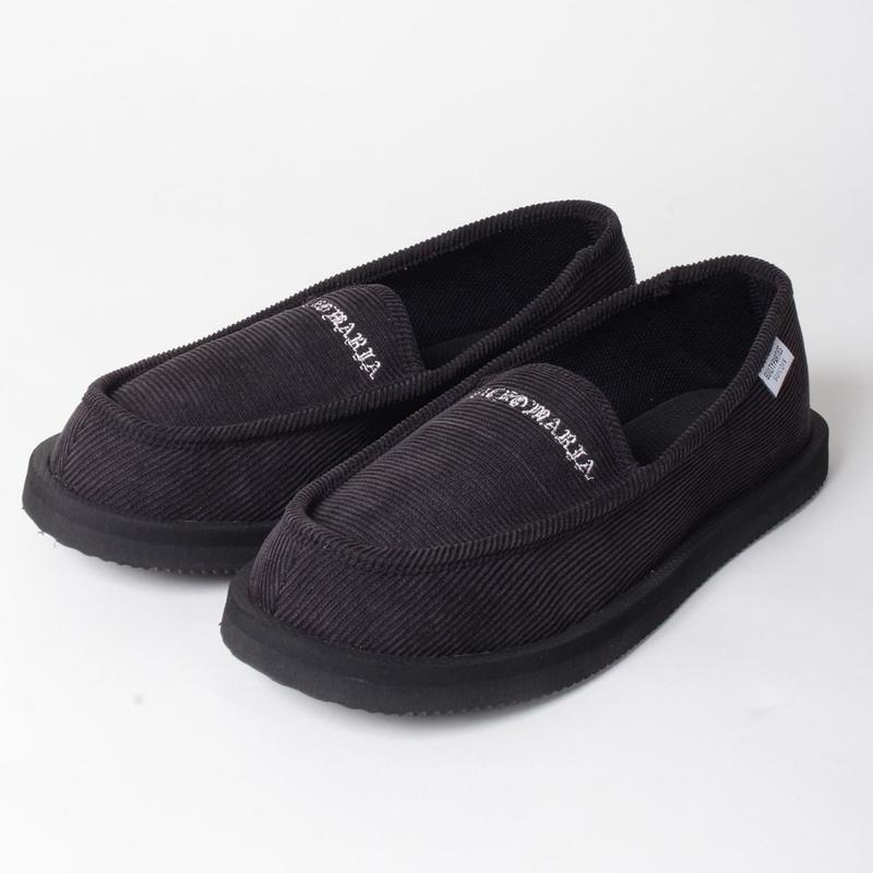 WACKO MARIA x SUICOKE/ DEEBO SHOES (type-2,black)