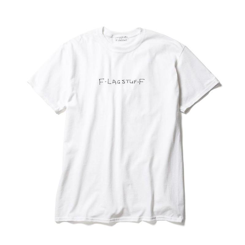 "F-LAGSTUF-F x Larry Clark /  ""Tee 5"" (white)"
