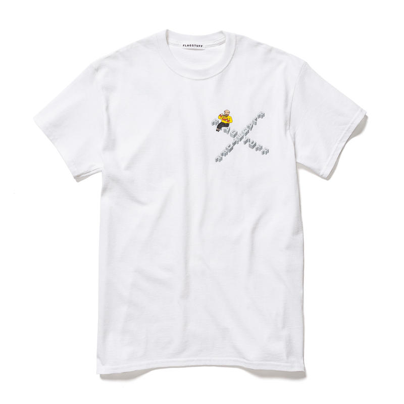 F-LAGSTUF-F×DON'T COME  / Tee (white)