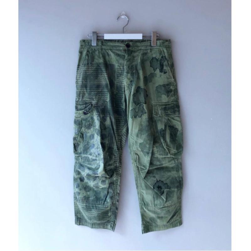 John Galliano / Camouflage Cargo Pant