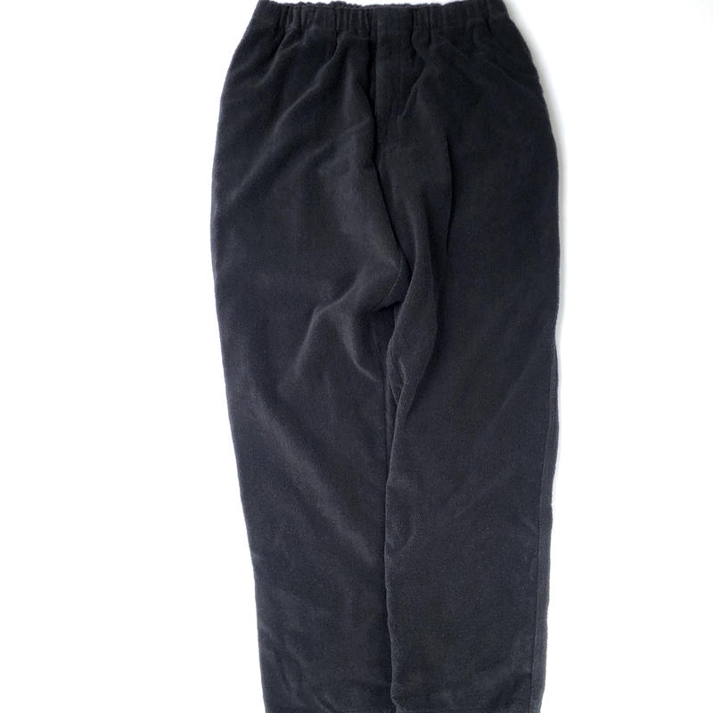 MASSES / PILE PANTS (black)