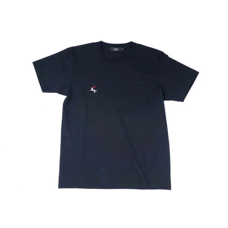 Diaspora skateboards / DET Pocket Tee (black)