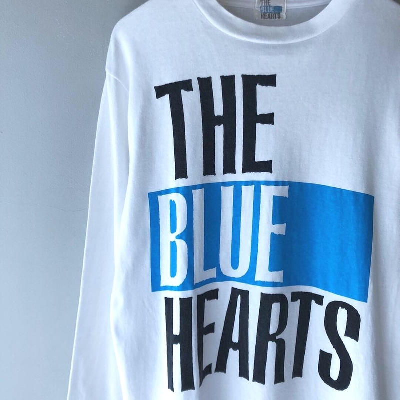 """90's THE BLUE HEARTS L/S tee"" (spice)"