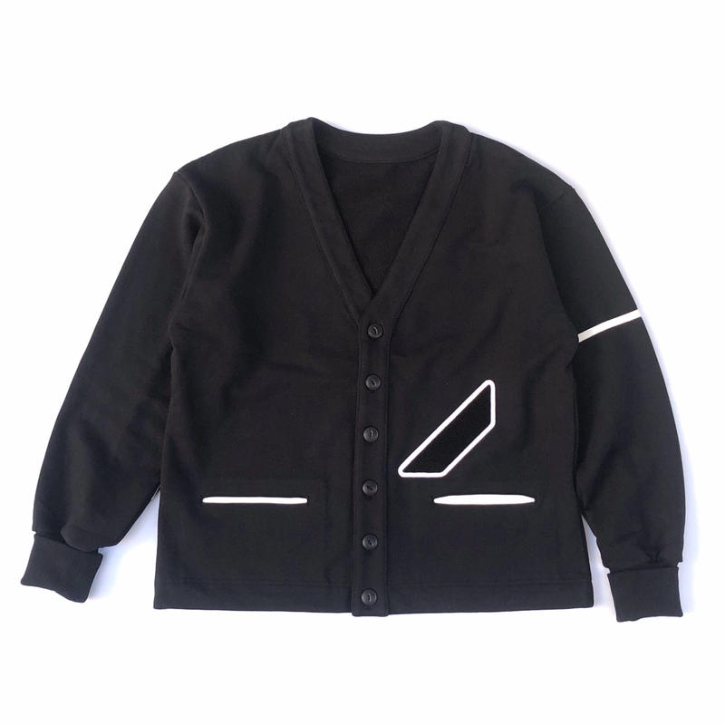 PHINGERIN / LEARN CARDIGAN (ブラック)