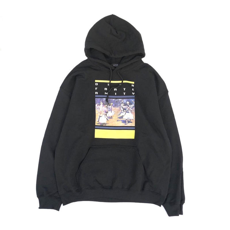 Diaspora skateboards /Alternative Hooded Sweatshirt  (Black)
