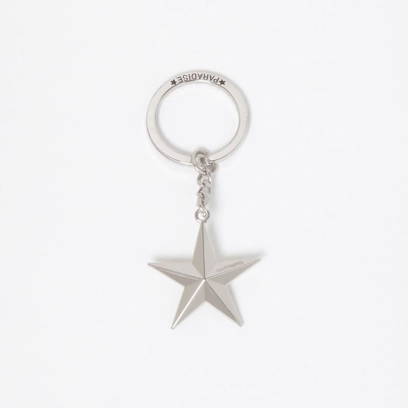 WACKO MARIA/STAR KEY HOLDER (TYPE-2) (SILVER)
