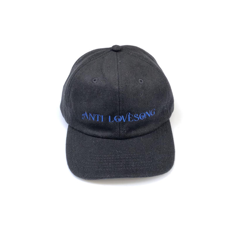 tr.4 suspension / ANTI LOVE SONG WOOL CAP (black)