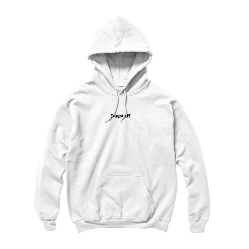 F-LAGSTUF-F / BOX LOGO HOODIE (white)