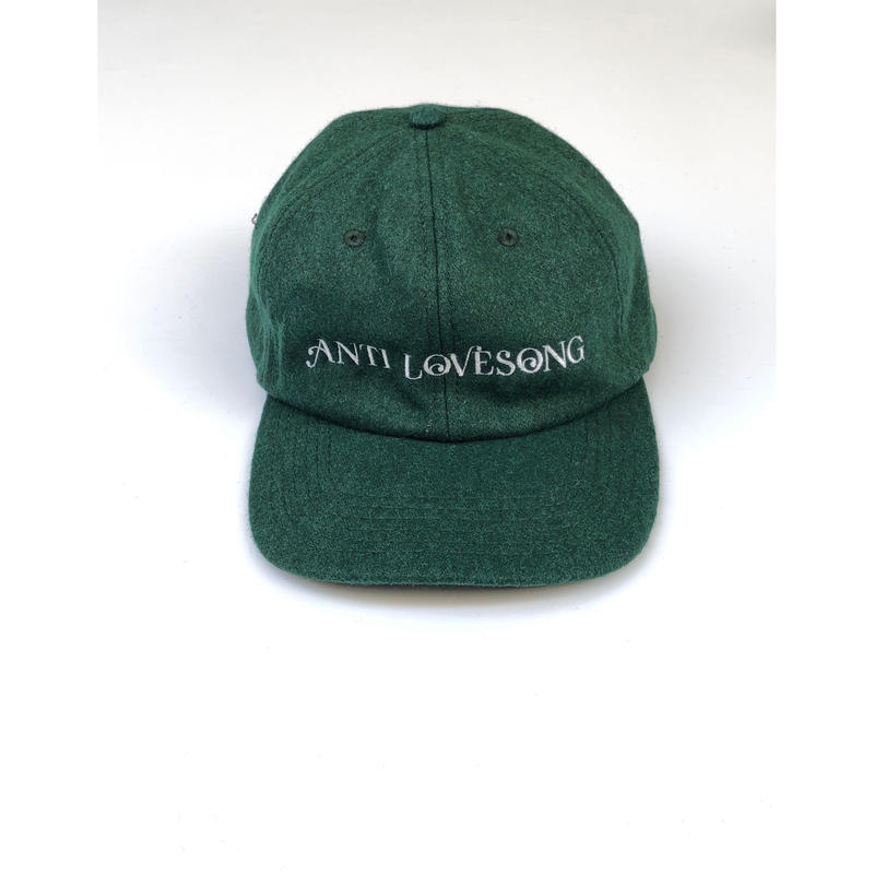 tr.4 suspension / ANTI LOVE SONG WOOL CAP (green)
