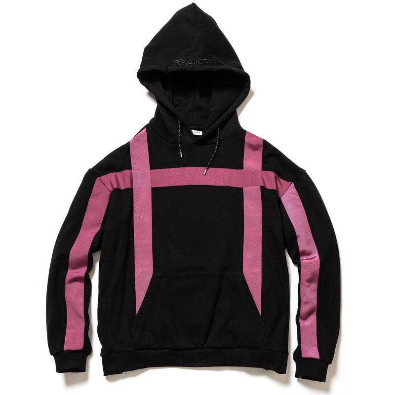 F-LAGSTUF-F / LINE BIG HOODIE(black)