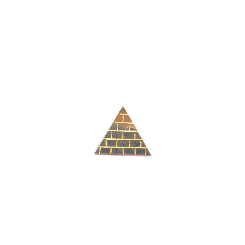 "14K GOLD Pendant Top ""ピラミッド"""